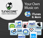 TuneCore Music Distribution of Your Own Music