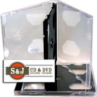 Double Slim Jewel Case With Black Tray - 200 Carton