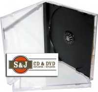 Assembled Jewel Case With Black Tray - 200 Carton