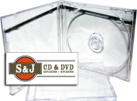 Assembled Jewel Case With Clear Tray - 200 Carton