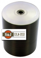 Prodisc Silver Inkjet Printable CDR - 100 Spindle