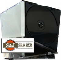 Slim Jewel Case With Black Tray - 200 Units