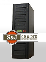 1 to 12 Target CD / DVD Duplicator