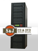 1 to 14 Target CD / DVD Duplicator