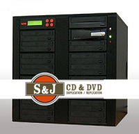 1 to 15 Target CD / DVD Duplicator
