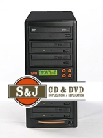 1 to 5 Target CD / DVD Duplicator