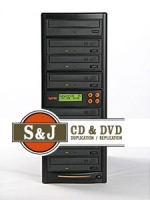 1 to 7 Target CD / DVD Duplicator
