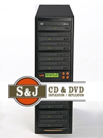 1 to 9 Target CD / DVD Duplicator