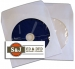 Paper Sleeve With Clear Window and Flap - 100 Units